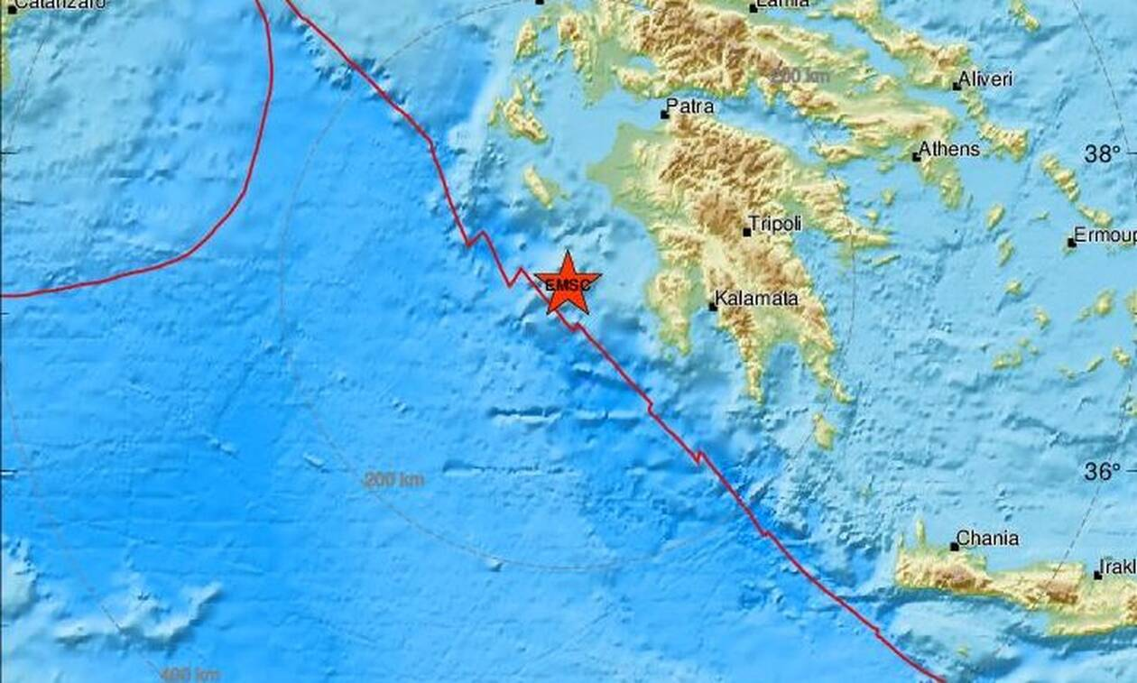 Σεισμός νότια της Ζακύνθου (pics)