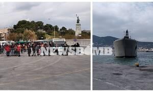 Το Newsbomb.gr στη Μυτιλήνη: Έτσι θα γίνει η μεταφορά των μεταναστών –Η διαδικασία και το αρματαγωγό
