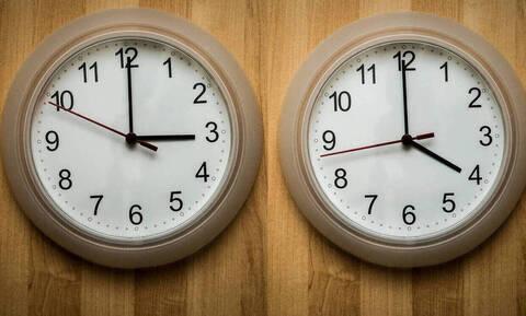 Αλλαγή ώρας: Δείτε πότε γυρνάμε τους δείκτες των ρολογιών μια ώρα μπροστά
