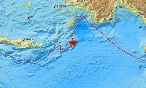 Σεισμός ΤΩΡΑ: Σεισμική δόνηση νοτιοανατολικά της Καρπάθου (pics)