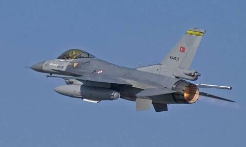 Αιγαίο: Υπερπτήσεις τουρκικών F-16 πάνω από Οινούσσες, Παναγιά και Χίο