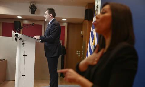 Πέτσας: Δεν θα περάσει κανείς τα σύνορά μας, είναι θέμα εθνικής ασφάλειας
