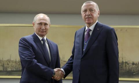 Κρίσιμη συνάντηση Πούτιν - Ερντογάν με φόντο την Ιντλίμπ