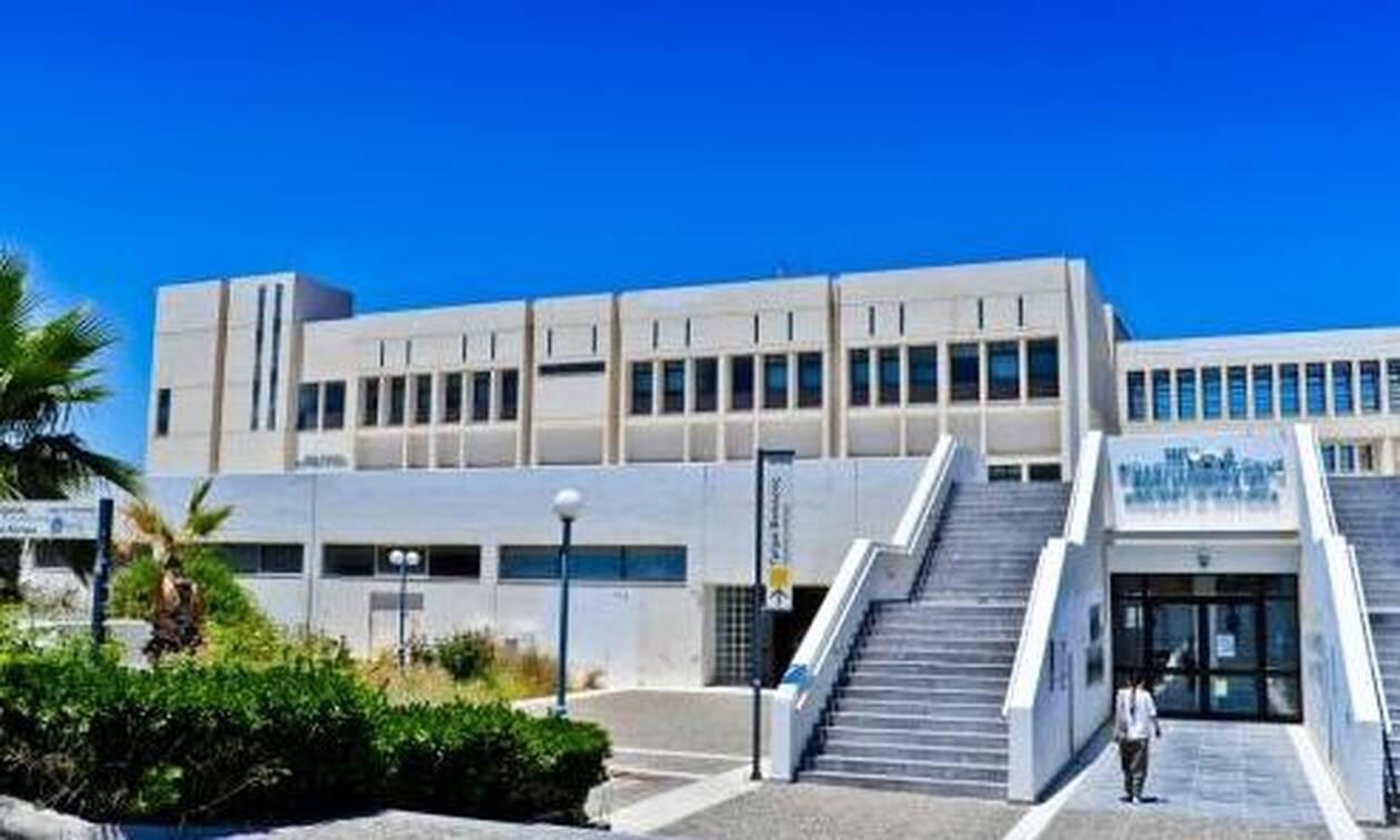 Κλείνει το Πανεπιστήμιο Ρεθύμνου λόγω κοροναϊού
