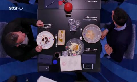 MasterChef: Επική γκάφα! Καλεσμένος σεφ βρήκε τρίχα στο γλυκό του (vid)