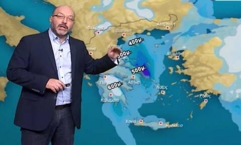 Καιρός:Έκτακτη προειδοποίηση του Σάκη Αρναούτογλου για επεισόδιο μεταφοράς αφρικανικής σκόνης (pics)