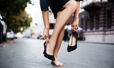 Τα λάθη που βλάπτουν την υγεία των ποδιών σας (φωτο)