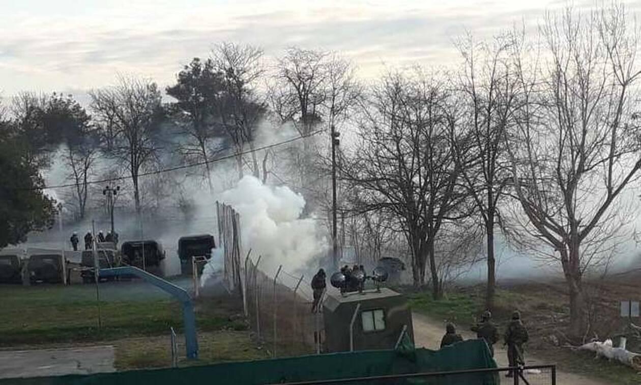 Έβρος: Επεισόδια το πρωί τα σύνορα – Τούρκοι αστυνομικοί έριξαν χημικά στους Έλληνες