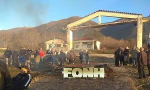 Σέρρες: Συγκέντρωση διαμαρτυρίας για τη δημιουργία κλειστού κέντρου φύλαξης μεταναστών (pics+vid)
