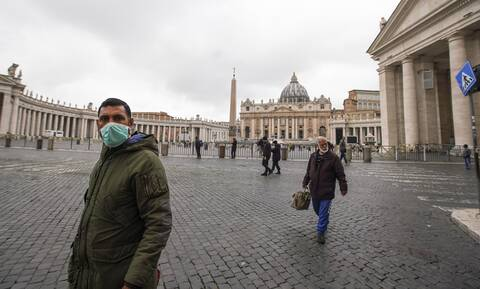 Κοροναϊός: Τρόμος στο Βατικανό – Παρουσιάστηκε το πρώτο κρούσμα