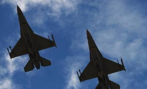 Νέο μπαράζ προκλήσεων στο Αιγαίο: Τουρκικά F-16 πέταξαν πάνω από Οινούσσες και Παναγιά