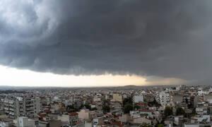 Έκτακτο δελτίο επιδείνωσης καιρου: Ισχυρές βροχές, καταιγίδες και χαλάζι τις επόμενες ώρες στη χώρα