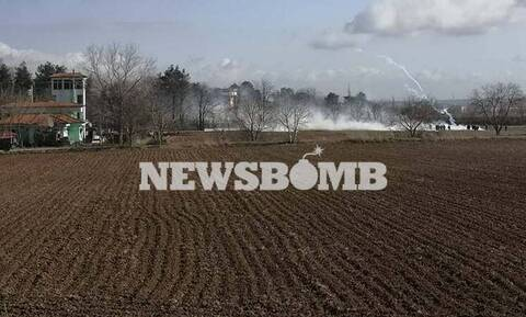 Έβρος: «Πόλεμος» ξανά στις Καστανιές – Άγρια επεισόδια, οι Τούρκοι ρίχνουν πάλι χημικά