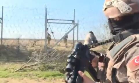 Βίντεο που κόβει την ανάσα: Έλληνες και Τούρκοι με το δάχτυλο στη σκανδάλη στα 5 μέτρα