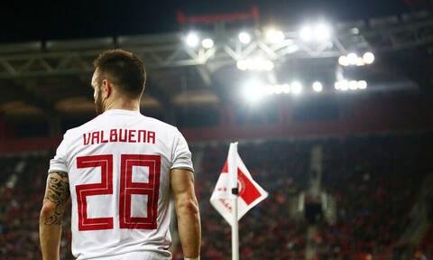 Βαλμπουενά: «Μου ταιριάζει ο Ολυμπιακός και ο κόσμος του»