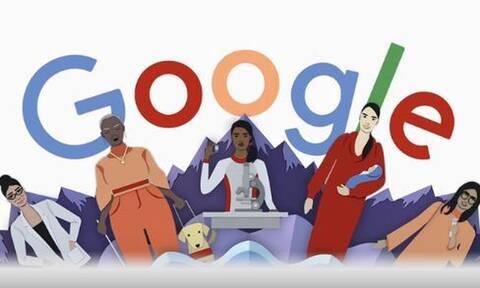 Παγκόσμια Ημέρα της Γυναίκας 2020: Ευχές για χρόνια πολλά από τη Google με doodle