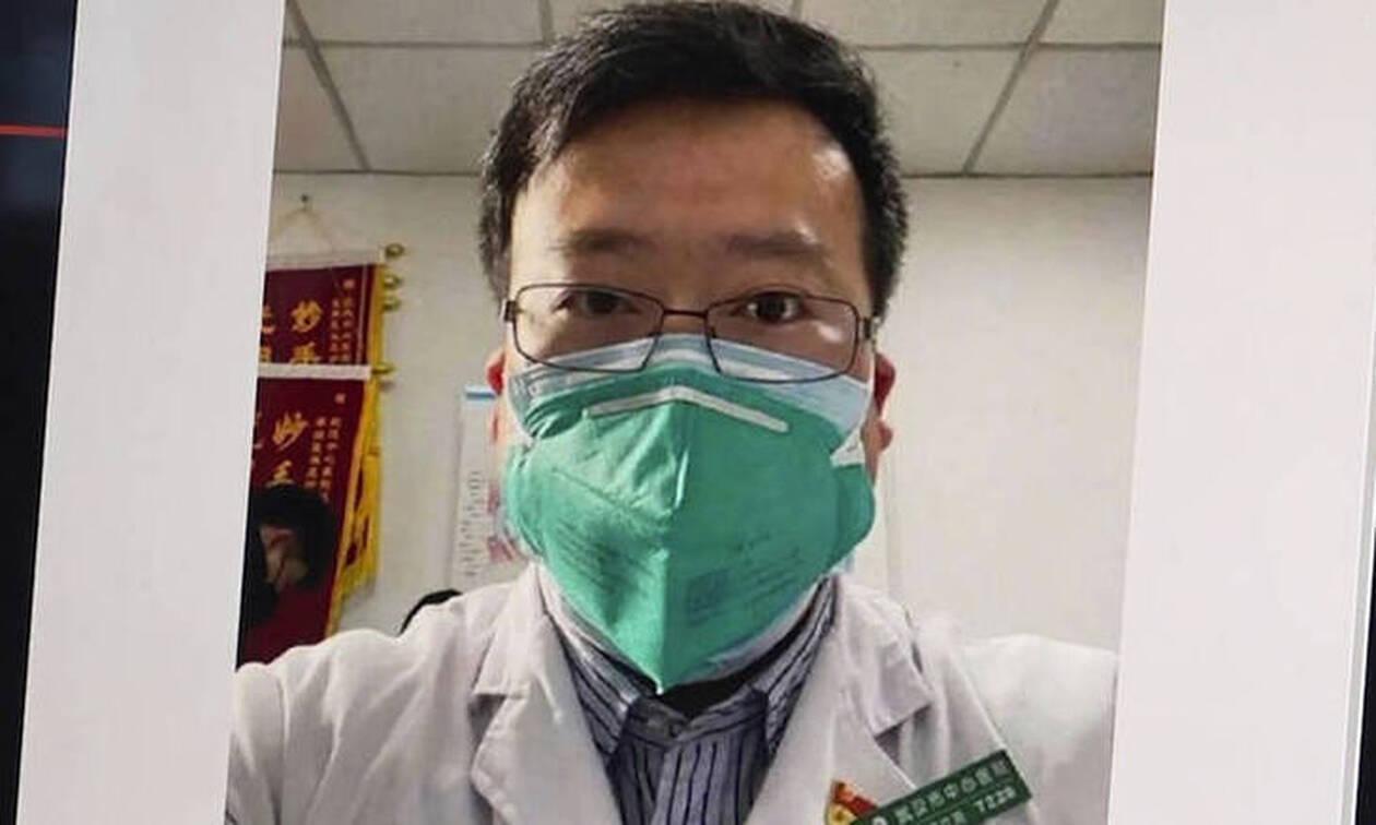Η Κίνα τίμησε τον γιατρό - «ήρωα» που φιμώθηκε όταν ενημέρωσε τον κόσμο για τον κορωνοϊό