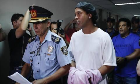 Στη φυλακή ο Ροναλντίνιο - Τι συνέβη