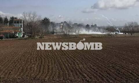 Το Newsbomb.gr στον Έβρο: Οι Τούρκοι έριξαν χημικά και προσπάθησαν να γκρεμίσουν τον φράχτη