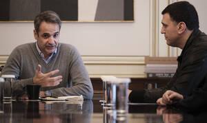 Κοροναϊός: Συνάντηση Μητσοτάκη-Κικίλια στο Μαξίμου – Αναμένονται έκτακτα μέτρα