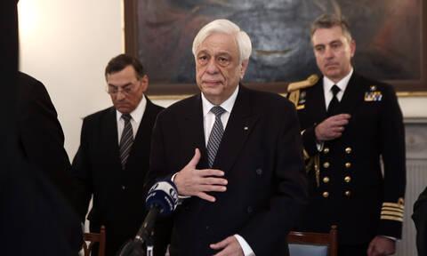 Παυλόπουλος: «Δεν θα επιτρέψουμε στην Τουρκία να ευτελίζει τον Άνθρωπο» - Αιχμές και κατά της Ε.Ε.