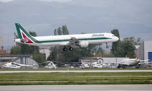 Κοροναϊός στην Ιταλία: Η Alitalia αναστέλλει όλες τις πτήσεις εσωτερικού και εξωτερικού