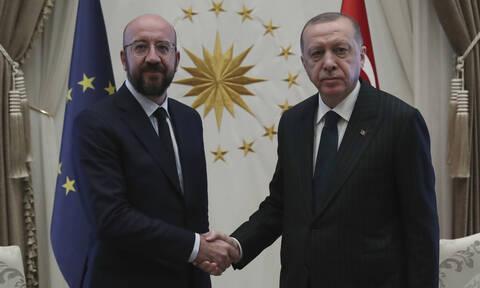 Στις Βρυξέλλες ο Ερντογάν: Μεταναστευτικό και Συρία στην ατζέντα των συζητήσεών του