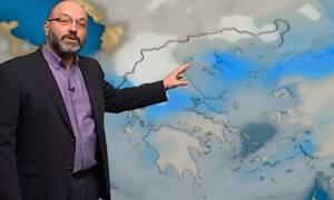Καιρός: Πώς θα εξελιχθεί η κακοκαιρία τις επόμενες ώρες; Η ενημέρωση του Σάκη Αρναούτογλου (video)