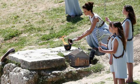 Κοροναϊός στην Ελλάδα: Χωρίς θεατές η τελετή αφής της Ολυμπιακής Φλόγας