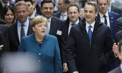 Μητσοτάκης: Να πάρει ο Ερντογάν τους απελπισμένους από τον Έβρο - Μέρκελ: Στηρίζουμε την Ελλάδα