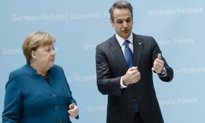 Τι συζήτησαν Μητσοτάκης-Μέρκελ πίσω από τις κλειστές πόρτες στο Βερολίνο