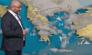 Καιρός: Απ' τη ζέστη στο κρύο; Μεγάλο το καιρικό ενδιαφέρον... Τι λέει ο Σάκης Αρναούτογλου (video)