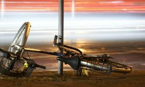 Τρίκαλα: Σε κρίσιμη κατάσταση ανήλικος ποδηλάτης που χτυπήθηκε από αυτοκίνητο