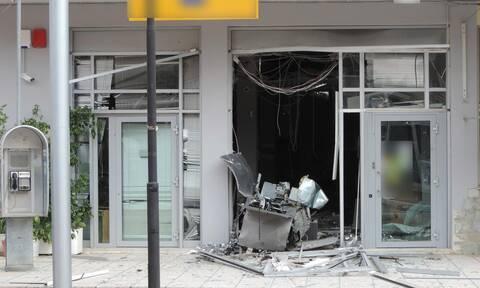 Έκρηξη σε ATM στη Νέα Πεντέλη: Με άδεια χέρια έφυγαν οι ληστές