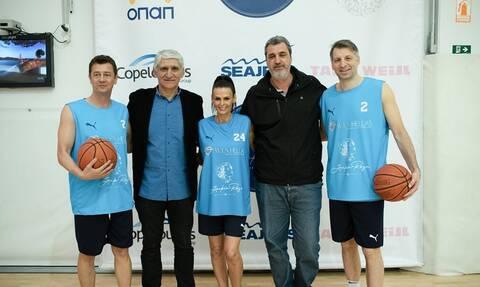 PLAY 2 W.I.N.: Αθλητές και celebrities σε αγώνα μπάσκετ για καλό σκοπό με την υποστήριξη του ΟΠΑΠ