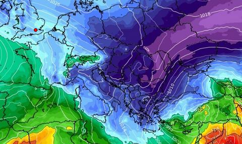 Καιρός: Προσοχή! Ο χειμώνας... επιστρέφει. Καρέ καρέ η μακροπρόθεσμη τάση που φέρνει κρύο (vid)