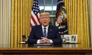 Κοροναϊός: Ο Τραμπ απαγόρευσε όλα τα ταξίδια από την Ευρώπη στις ΗΠΑ