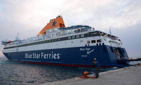 Suspected coronavirus case stops ferry «Blue Star Mykonos» at Limnos