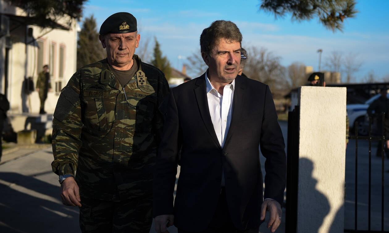 Έβρος: Στις Καστανιές ο Μιχάλης Χρυσοχοΐδης και ο επικεφαλής της Frontex