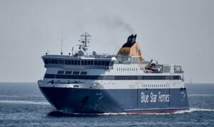 Κοροναϊός: Λήξη συναγερμού για το «Blue Star Μύκονος» - Απέπλευσε από το λιμάνι της Λήμνου