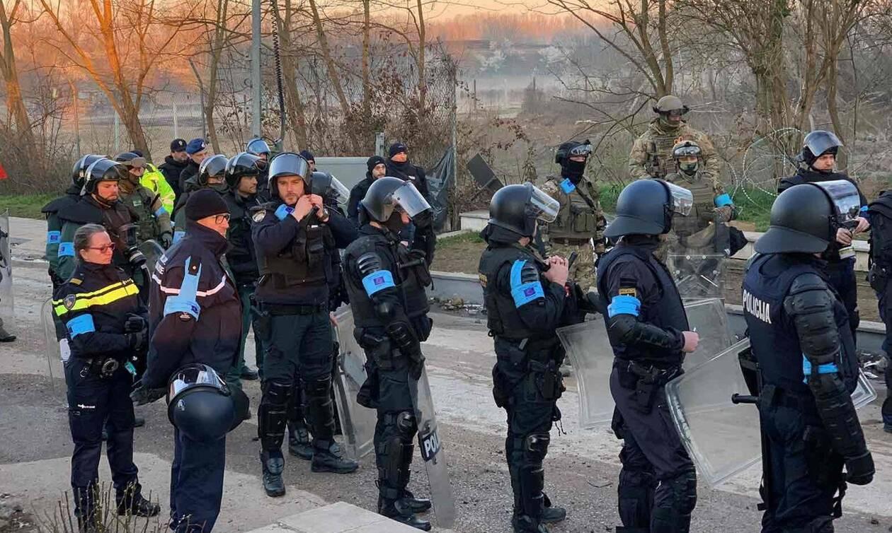«Πάγωσαν» οι Τούρκοι: «Απόβαση» της Frontex στον Έβρο με ισχυρές δυνάμεις (pics & vid)