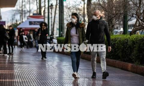 Κοροναϊός:To Newsbomb.gr στην «καρδιά» της Αθήνας -  Πώς αντιμετωπίζουν οι Αθηναίοι την επιδημία