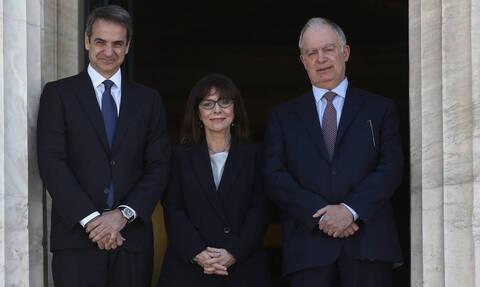 Новый президент Греции Экатерини Сакелларопулу принесла присягу