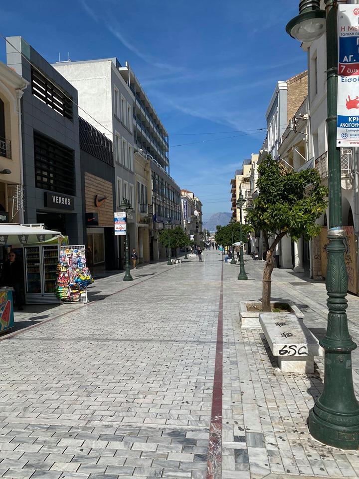 Κορονοϊός: Έρημη πόλη η Πάτρα - Άδειοι δρόμοι και κλειστά μαγαζιά - Newsbomb - Ειδησεις