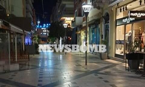 Κορονοϊός: Έρημη πόλη η Πάτρα - Άδειοι δρόμοι και κλειστά μαγαζιά