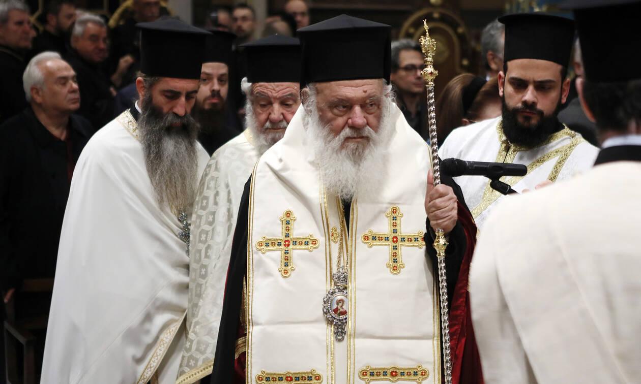 Κορονοϊός: Έκτακτη συνεδρίαση της Ιεράς Συνόδου - Αποφασίζουν για τις εκκλησίες