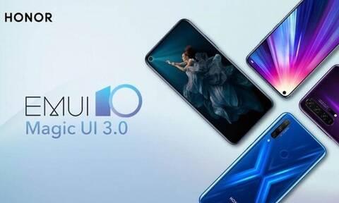 H HONOR φέρνει το Magic UI 3.0 στη σειρά συσκευών HONOR 20 , HONOR View 20 και HONOR 9X