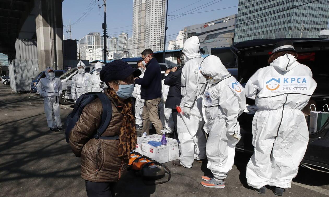 Κορoνοϊός: Μειώνονται τα νέα κρούσματα στη Νότια Κορέα