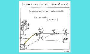 Κορονοϊός: Ασπρόμαυρα σκίτσα αποτυπώνουν τις μεγάλες αλλαγές στη ζωή μας λόγω του ιού (pics)