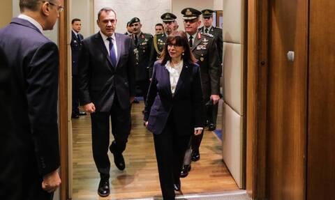 Το πρώτο ηχηρό μήνυμα της Σακελλαροπούλου στην Τουρκία: Αδιαπραγμάτευτη η εθνική μας κυριαρχία